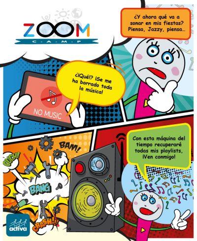 Cómic Jazzy - ZoomCamp verano 2021